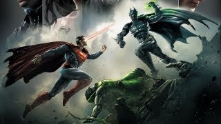 Injustice Gods Among Us Demo Gameplay - LET THE BUTTON MASH BEGIN