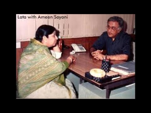 Lata_with Ameen Sayani Part 1