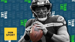 Russell Wilson: Could you train like an NFL quarterback? | BBC Sport