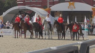 Кремлевская школа верховой езды на фестивале