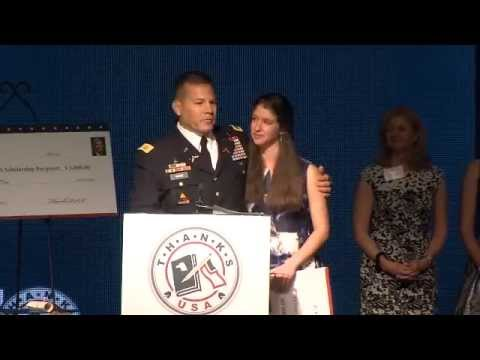 Col. Ward Closing Speech and Surprise Award - 2015 Treasure Our Troops Gala