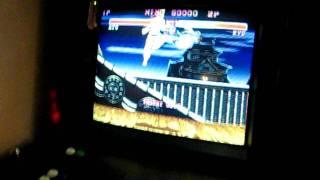 Arcade machine street fighter 2
