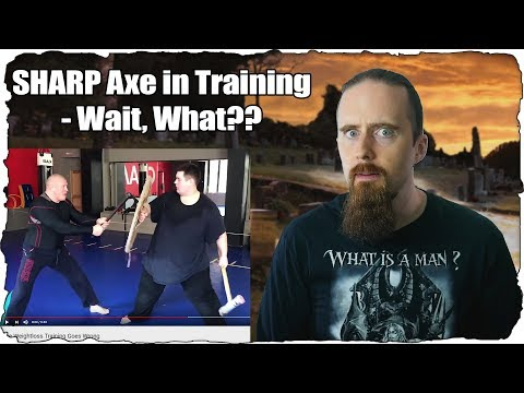 How NOT To Train With An Axe - Astonishing Safety Fail!