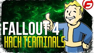 Fallout 4 HOW TO HACK A TERMINAL Tutorial Guide Getting the correct Password