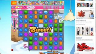 Candy Crush Saga Level 1632 (33000 Score in 100 Seconds)