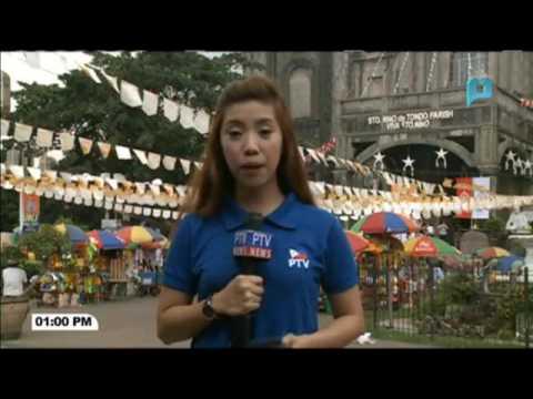 NEWS BREAK I Mga imahe ng Sto. Nino, ipinarada sa Tondo, Manila
