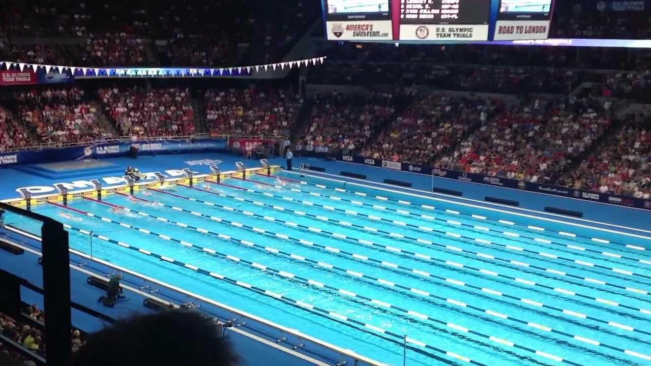 2012 olympic swimming trials womens 400m freestyle finals youtube