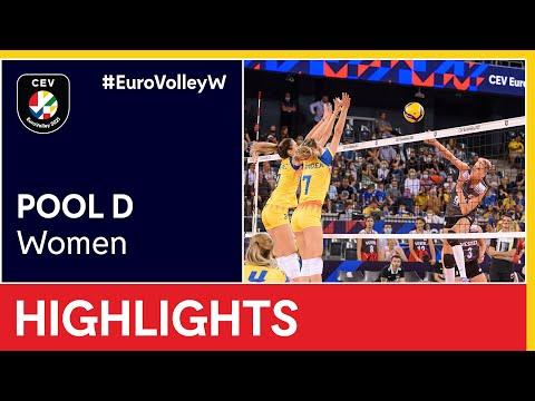 Romania vs. Turkey Highlights - #EuroVolleyW