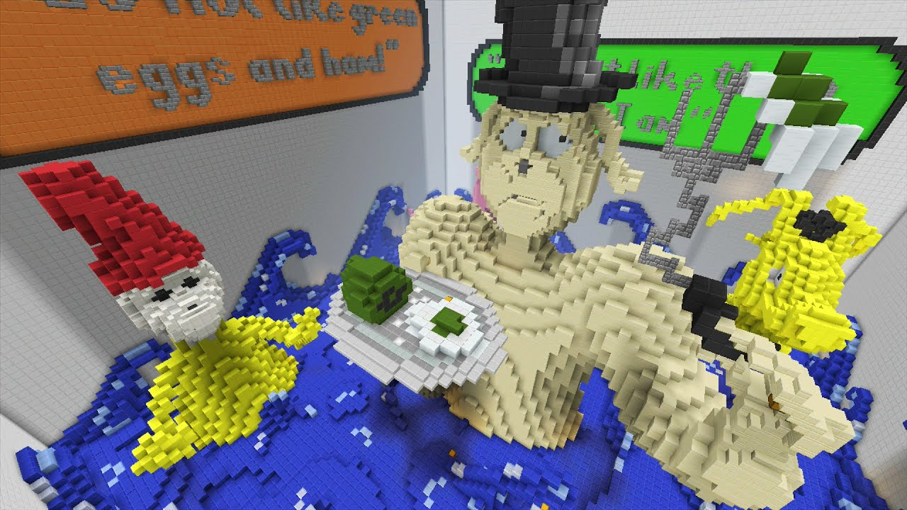 Minecraft Xbox World Of Seuss Hunger Games Youtube