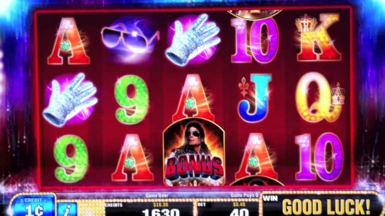 Michael jackson king of pop slot machine niagara falls casino