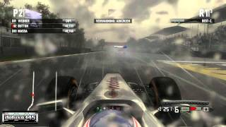 F1 2011 Video Game Gameplay #2 (PC HD)