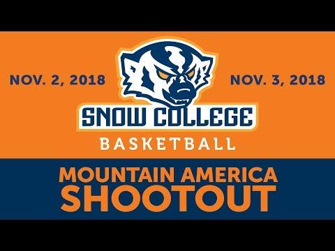 Mountain America Shootout-Men: Snow vs. Western Wyoming 11-3-2018
