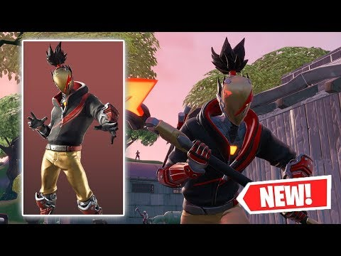 NEW RED STRIKE Skin Gameplay In Fortnite!