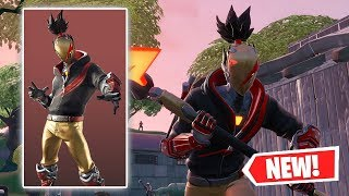 NUOVO RED STRIKE Skin Gameplay a Fortnite!