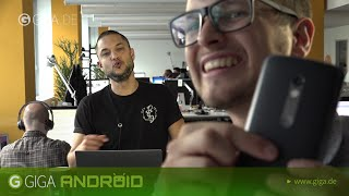 Samsung Gear S2, Huawei Mate S und Moto X Bounce - Android täglich 01.09.15