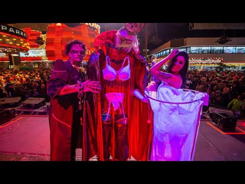 While we receive compensation when you click links to partners, they do not i. Fremont Street Experience Halloween 2019 Las Vegas - YouTube