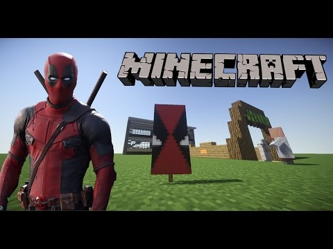 How To Make A Deadpool Banner In Minecraft!