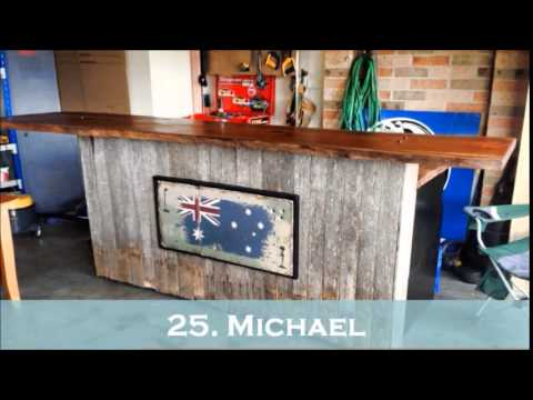 Used Man Cave Bar : Aussie mancave bars youtube