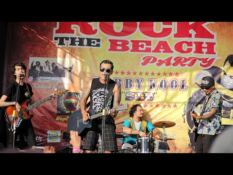 BOBBY KOOL (SID) - ALL ANGELS CRY (LIVE OFFICAL ROCK THE BEACH JEPARA #5)
