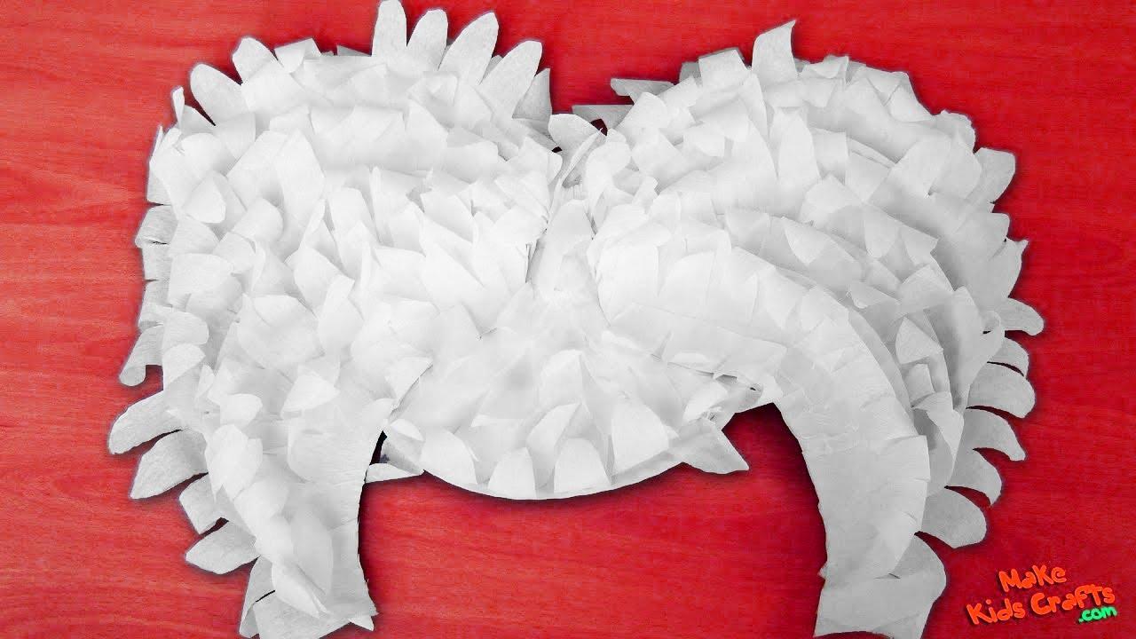 How to make Angel Wings? DIY - YouTube