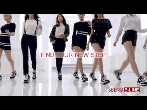 超人氣韓國女團AOA、IU、宋再臨代言 正韓質感 SBENU男女運動鞋S-line S-003 ✈100%正韓商品代購