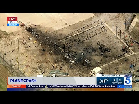 Qui West - Small Plane Crashes Inside Norco Prison Yard!