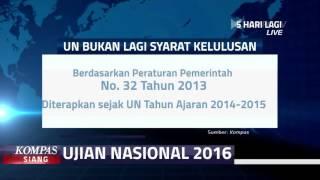 UN Bukan Lagi Syarat Kelulusan