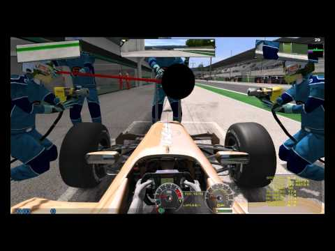 Repeat rFactor 2 : Dynamic weather & track - Dry & Wet by