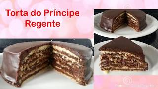 TORTA DE CHOCOLATE – TORTA DO PRÍNCIPE REGENTE