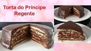 TORTA DE CHOCOLATE – TORTA DO PRÍNCIPE REGENTE