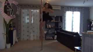 Pole Dance: Back Hook en mode Spinning