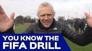 Pompey take on Soccer AM's 'You Know the FIFA Drill' with Jimmy Bullard