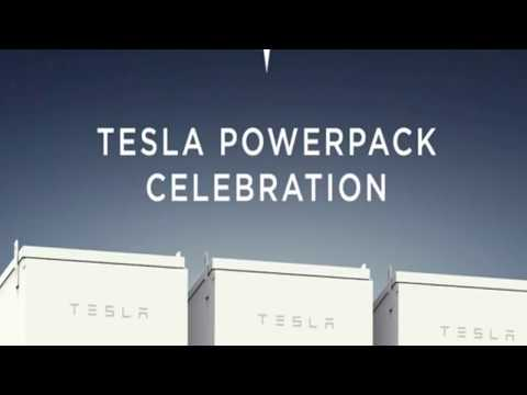 Tesla Battery Pack - South Australia Power Grid   Elon Musk   NodeReactor