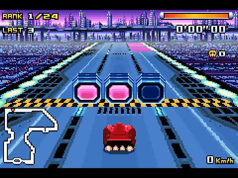 F Zero Climax GBA Master Class 1st Place No Deaths Speed Run 36'11'22