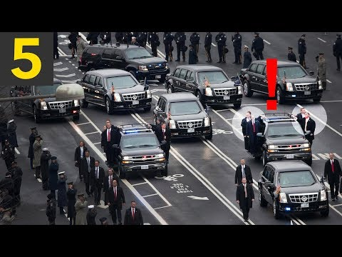 Top 5 Presidential Motorcade Fails
