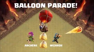 Clash of Clans   The Art of Clan War - Episode 2 - Balloons (TH6)