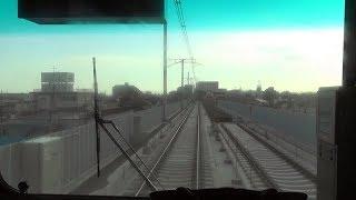 車窓の旅・新京成電鉄立体化工事区間[鎌ヶ谷大仏-くぬぎ山往復](Shinkeisei Electric Railway )