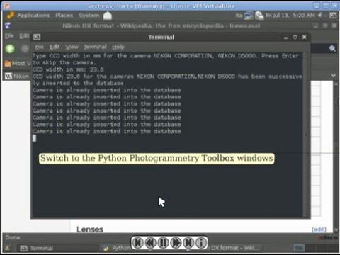 PPTGUI - Check camera database