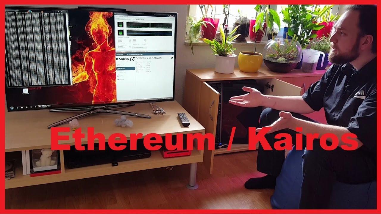 Ethereum Miner PC Im Wohnzimmer Mit Kairos