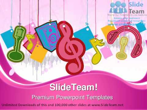 Music Symbol PowerPoint Templates Themes And Backgrounds Graphic designs