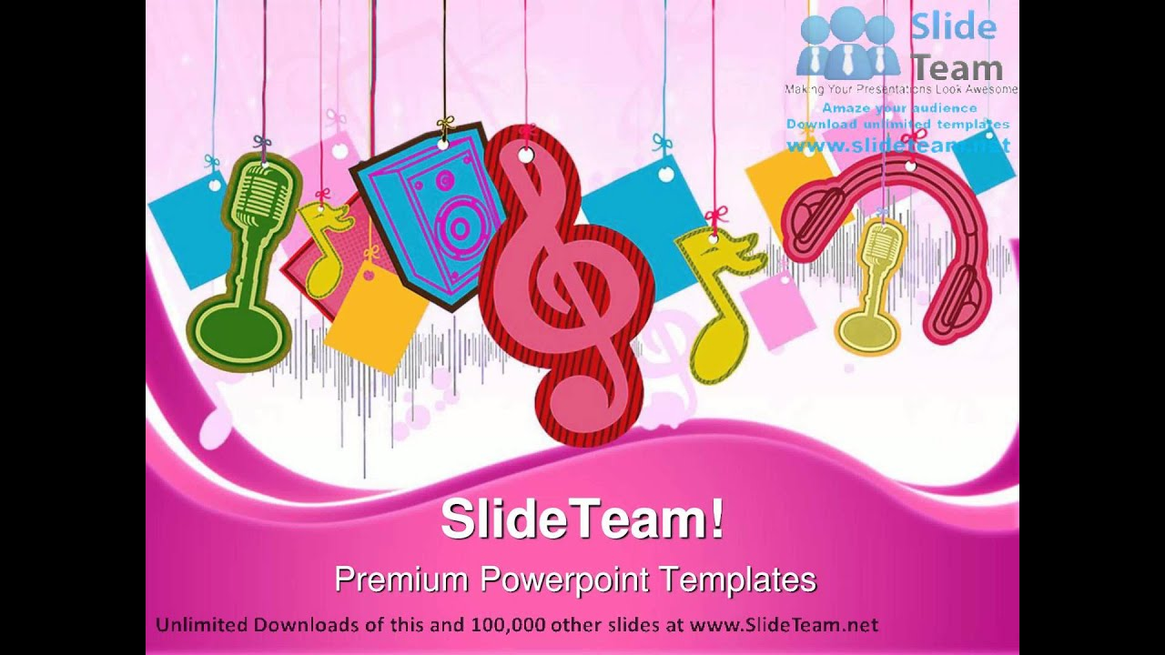 music symbol powerpoint templates themes and backgrounds