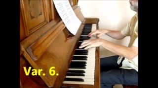 je fais de la musique: Clementi. Variation from Sonate B Op. 12 No 1