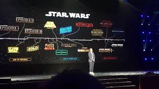 D23 Expo 2019 Ewan McGregor returns as Obi Wan Announcement - Disney+ Show