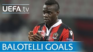 Mario Balotelli: Goals for his last five clubs