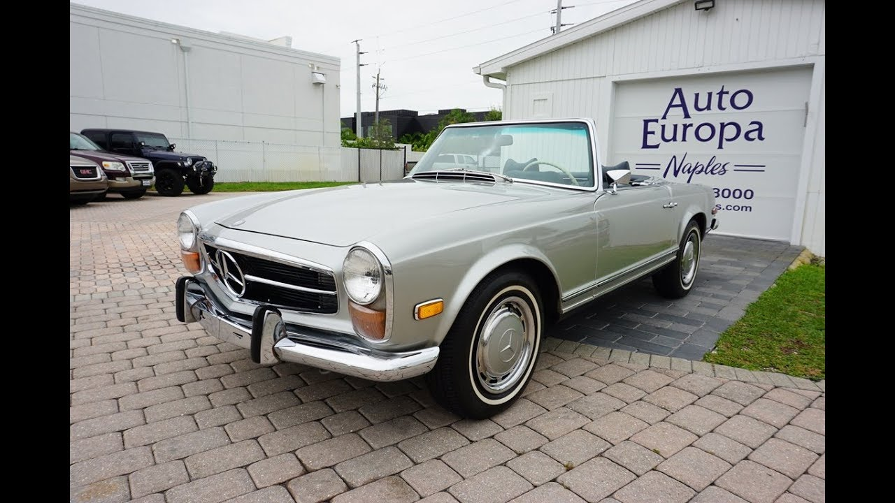 Here's Why The Mercedes-Benz 280 SL Pagoda Is So Good and a Charming  Collectible