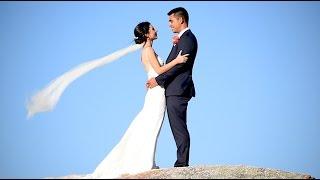 A sneak peek of Breanna and Chris' wedding