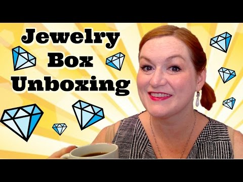Live Jewelry Box Unboxing - Will I Find Gold? - Friend Mail Box from Rose -Jewelry Haul