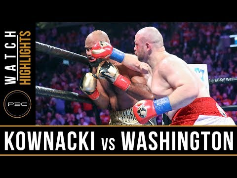 Kownacki vs Washington HIGHLIGHTS: January 26, 2019 - PBC on FOX