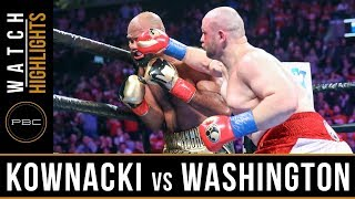 Kownacki vs Washington HIGHLIGHTS: January 26, 2019 - PBC on FOX