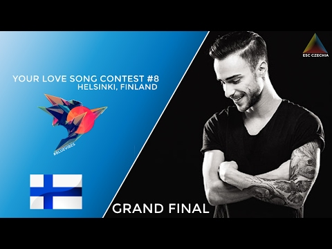 YOUR LOVE SONG CONTEST #8 | GRAND FINAL | Helsinki, Finland | VOTING OPEN